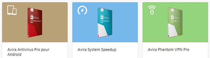 logiciel utilitaire Avira pour PC et Mac