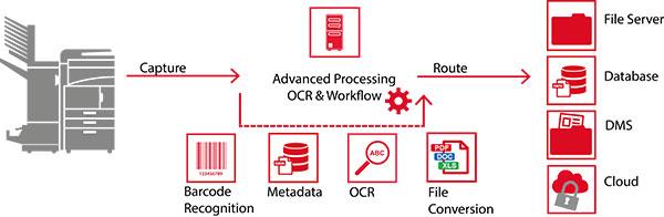 Processus Capture automatisée et stockage ABBY