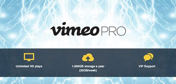 vimeo pro tarif
