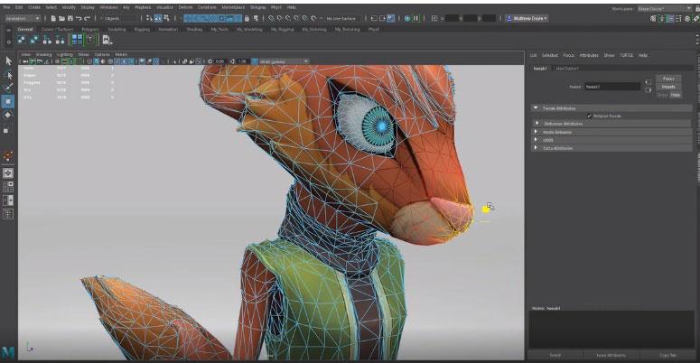 animation et de modélisation avec Maya Autodesk