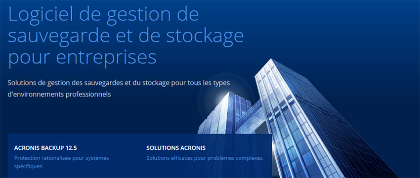 Solution de gestion de données pour professionnels et entreprises