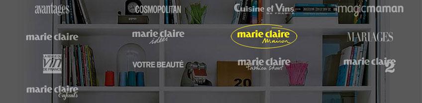 kiosque groupe Marie Claire pour l'abonnements magazines