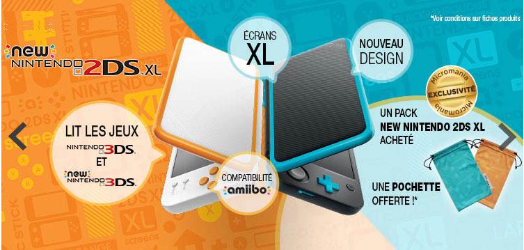 La nouvelle offre Nintendo