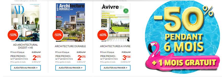 Offre en ligne Le kiosque d'abonnement magazine