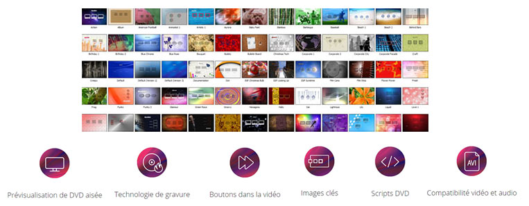 Outils professionnels VEGAS de montage vidéo et film