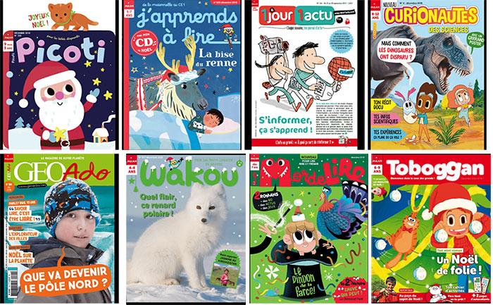 toute l'offre magazines enfants Milan jeunesse