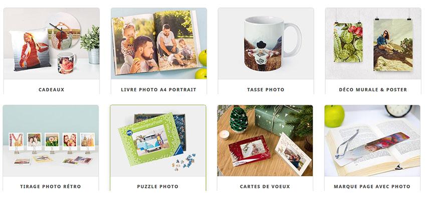 tous les cadeaux et goodies personnalisés myphotobook