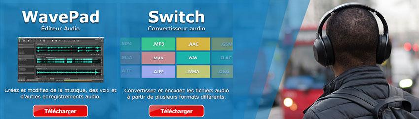 logiciel montage et conversion audio