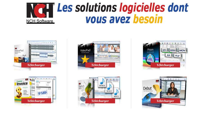 Offre de service et catalogue nchsoftware.com