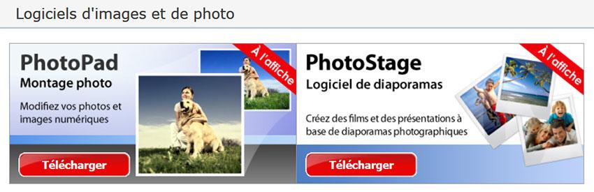 logiciel de montage et de retouche photo