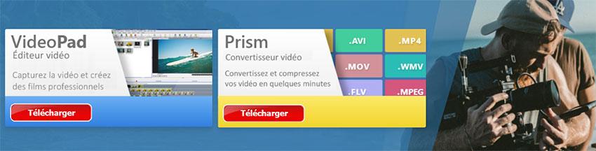 logiciel de montage et conversion vidéo