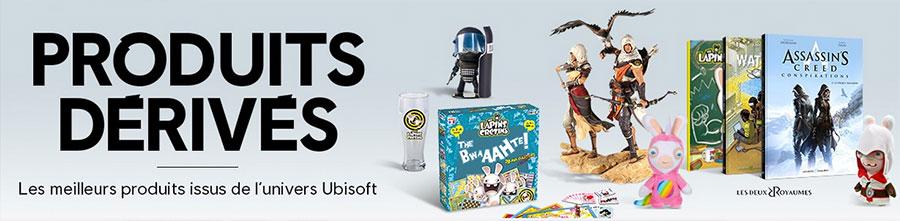 produits dérivés et fans Ubisoft