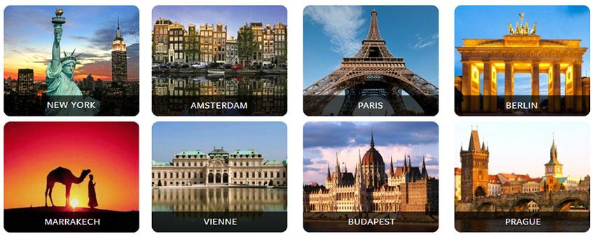 Top 10 des villes touristiques