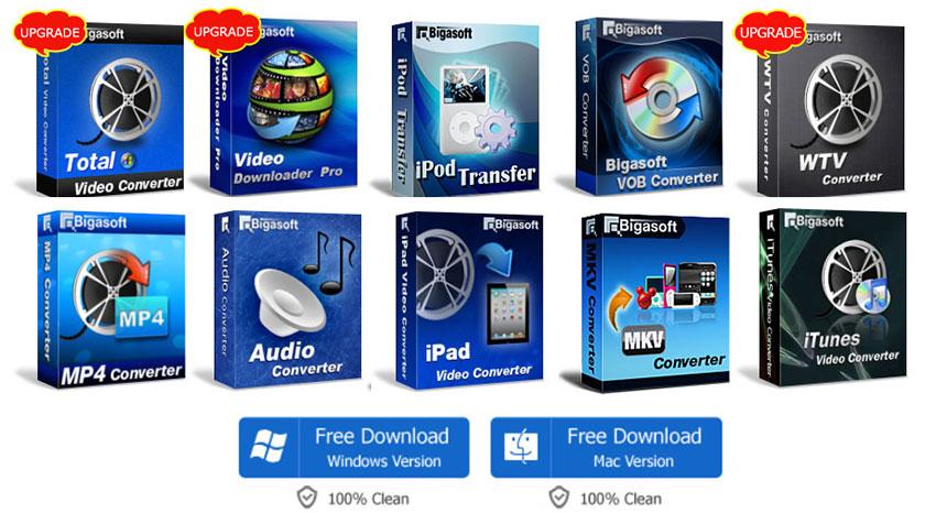 Pack Logiciels Multimedia Bigasoft