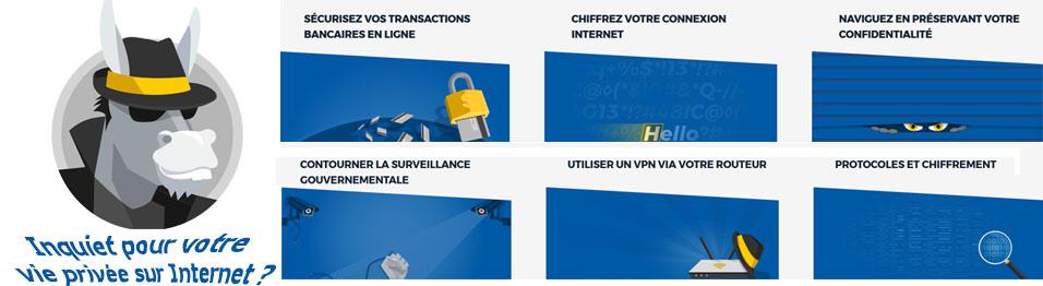 VPN HMA pour cachez votre IP