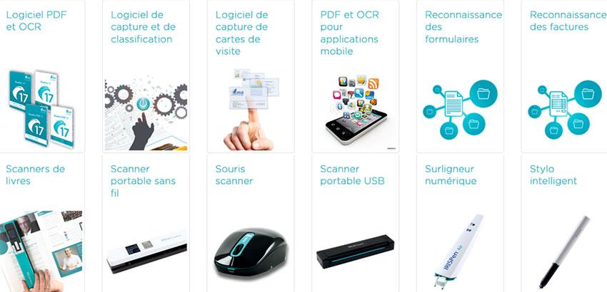 Solutions OCR et Scanner par I.R.I.S Canon.