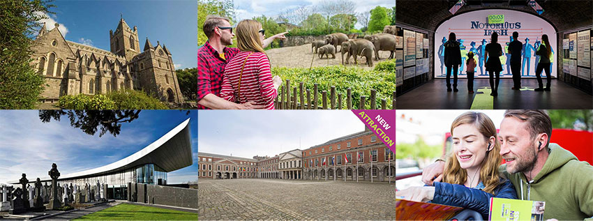 Principales attractions touristiques de Dublin