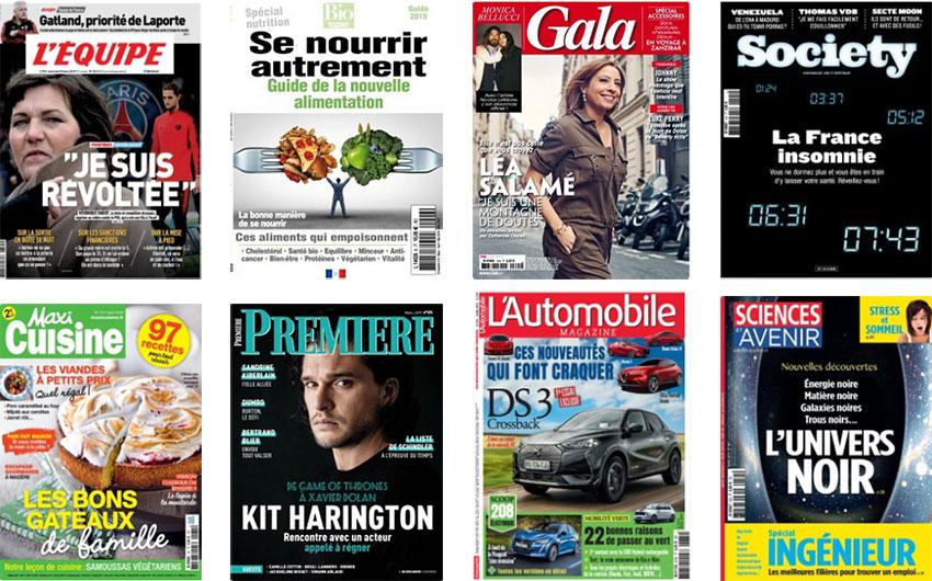 Catalogue en ligne des magazines et presses