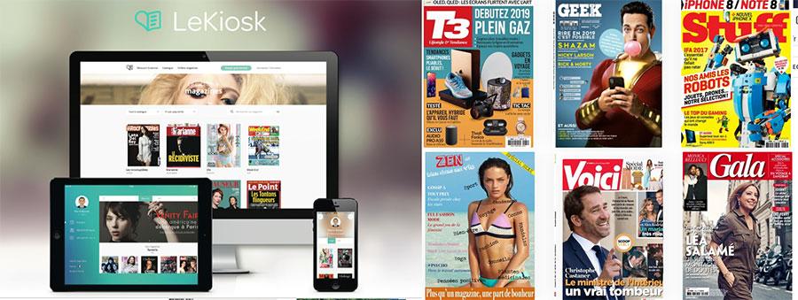 Offre d'abonnement en ligne (iOS et Androïd )