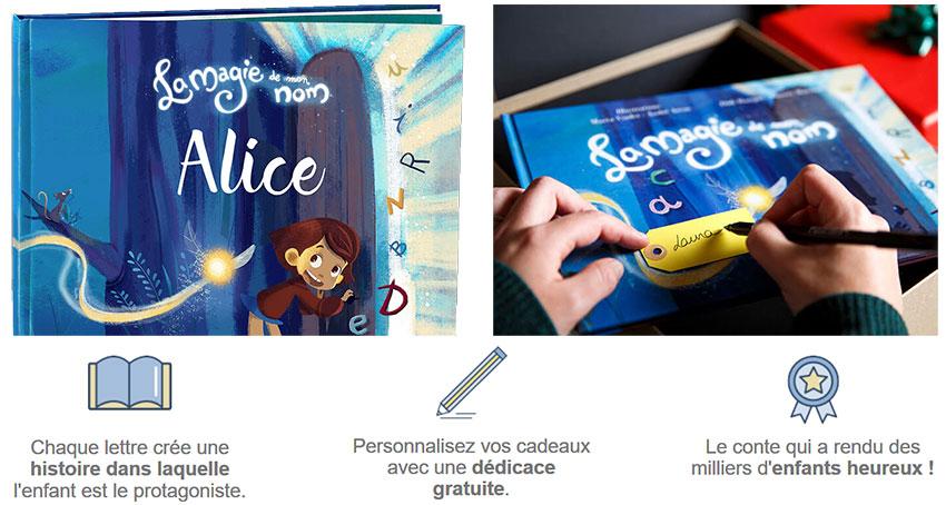 personnalisation de livre de contes pour enfant