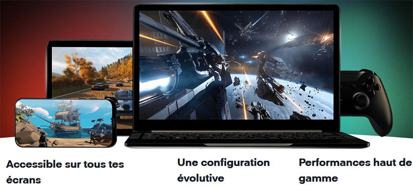 PC complet dans le cloud gaming
